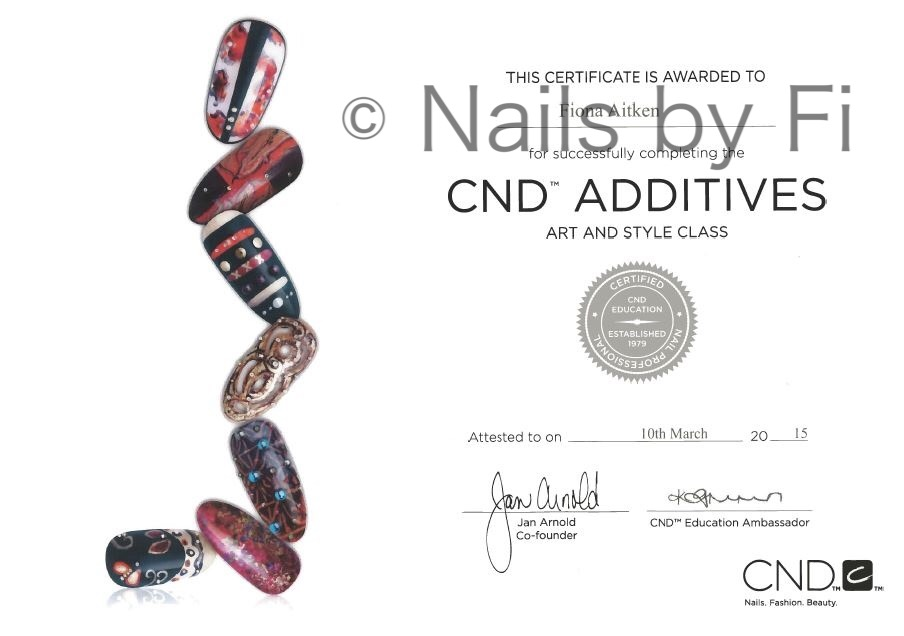 cnd additives